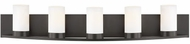 LBL BA1047BZLED927 Granada Contemporary Bronze LED 5-Light Bathroom Lighting Fixture