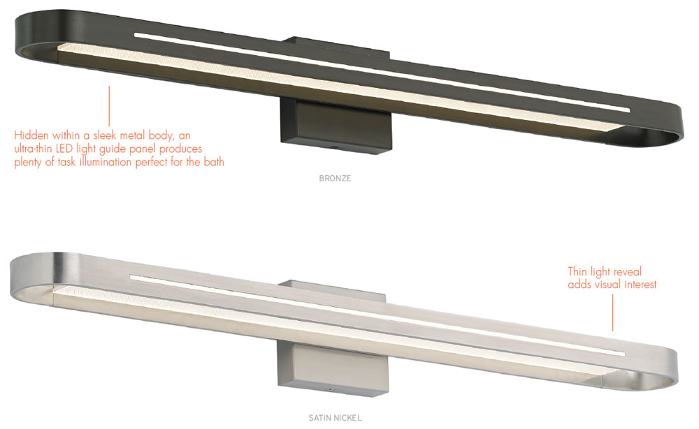 LBL BA868 Vertura 36 Modern LED Bathroom Light - LBL-BA868