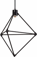LBL CH946BLLEDWD Candora Contemporary Black LED Mini Chandelier Lighting