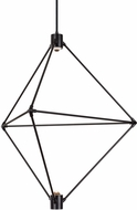 LBL CH947BLLEDWD Candora Modern Black LED Chandelier Light