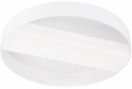 LBL FM1057WHLED930 Slot Modern Matte White LED Flush Lighting