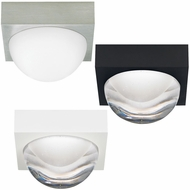 LBL FM929 Sphere Modern LED Flush Mount Light Fixture