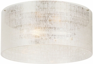 LBL FM972LNSCLED823 Vetra Contemporary Satin Nickel LED Ceiling Light Fixture