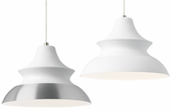 LBL HS893 Togan Modern Satin Nickel Low Voltage Pendant Light