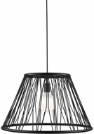 LBL LP1037BLLED830 Diamant Grande Contemporary Matte Black LED Lighting Pendant