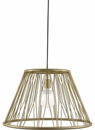 LBL LP1037GDLED830 Diamant Grande Modern Satin Gold LED Pendant Lamp