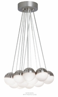 LBL LP84911 Sphere 11-Light Contemporary LED Multi Drop Ceiling Lighting