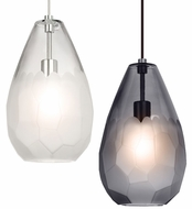 LBL LP889 Briolette Contemporary LED Line Voltage Mini Hanging Pendant Lighting