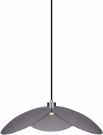 LBL LP953SMLEDWD Oma Contemporary Smoke LED Pendant Light