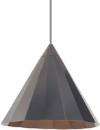 LBL LP962GMLED830 Astora Modern Gunmetal LED Ceiling Light Pendant