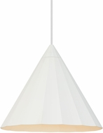 LBL LP962WHLED830 Astora Contemporary White LED Ceiling Pendant Light