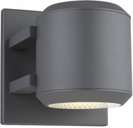 LBL OD1060CHLED930W Aspenti Modern Charcoal LED Exterior Wall Lamp