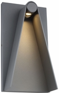 LBL OD1063CHLED930W Elpha Modern Charcoal LED Exterior 14  Wall Sconce Lighting