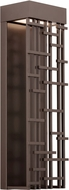 LBL OD825BZLEDW Pier 60 Modern Bronze LED Outdoor Sconce Lighting