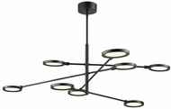 LBL SU1034BLLED930 Spectica Contemporary Black / Black LED Island Lighting