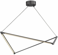 LBL SU1036GMLED930 Balto Modern Gunmetal LED Island Light Fixture