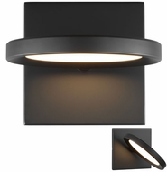 LBL WS1035BLLED930 Spectica Contemporary Black / Black LED Wall Lamp