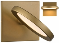 LBL WS1035GDLED930 Spectica Modern Satin Gold LED Wall Lighting