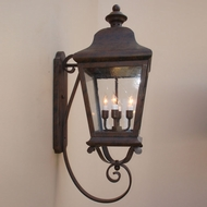 Lighting Innovations 1204 Traditional Outdoor 12 Wide x 33.5 Tall Wall Mounted Lamp