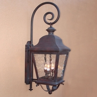 Lighting Innovations 1213 Traditional Outdoor 10.3 Wide x 32.5 Tall Wall Sconce Light