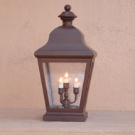 Lighting Innovations 1228 Traditional Outdoor 6  Wide x 13.3  Tall Pier Mount
