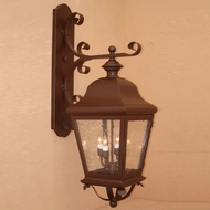 Lighting Innovations 1252 Traditional Outdoor 16 Wide x 48.8 Tall Wall Light Sconce