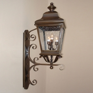Lighting Innovations 1272 Traditional Outdoor 16 Wide x 49.8 Tall Lamp Sconce