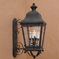Lighting Innovations 1288 Traditional Exterior 18  Wide x 42  Tall Wall Light Sconce