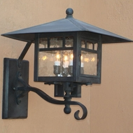 Lighting Innovations 3302 Outdoor 10.5  Wide x 12.3  Tall Wall Sconce Light