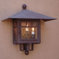 Lighting Innovations 3404 Outdoor 14  Wide x 13.8  Tall Lighting Sconce