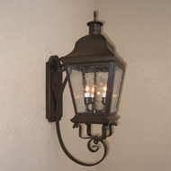 Lighting Innovations BB5940 Exterior 6  Wide x 19.5  Tall Light Sconce