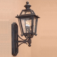 Lighting Innovations BB9212 Outdoor 10 Wide x 27.3 Tall Wall Sconce Light