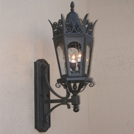 Lighting Innovations BC7041 Traditional Exterior 9  Wide x 28  Tall Wall Lighting Fixture