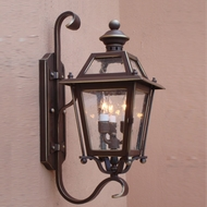 Lighting Innovations BH9208 Exterior 12 Wide x 28.1 Tall Wall Light Sconce