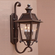 Lighting Innovations BH9308 Exterior 12 Wide x 28.1 Tall Light Sconce