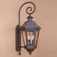 Lighting Innovations BP1404 Traditional Exterior 16  Wide x 39.8  Tall Lighting Sconce