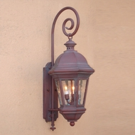 Lighting Innovations BP1716 Outdoor 19  Wide x 48.3  Tall Wall Lighting Sconce