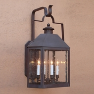 Lighting Innovations BP1901 Outdoor 8.3  Wide x 14.1  Tall Wall Sconce Lighting