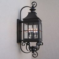 Lighting Innovations BP2001 Exterior 6.9  Wide x 25.3  Tall Wall Sconce Light