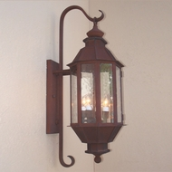 Lighting Innovations BP2115 Outdoor 7.6  Wide x 21.9  Tall Lamp Sconce