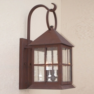 Lighting Innovations BP2301 Outdoor 7  Wide x 15.8  Tall Light Sconce