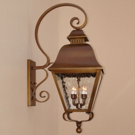 Lighting Innovations BP9703 Outdoor 12.8 Wide x 33.5 Tall Wall Light Sconce