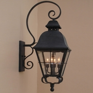 Lighting Innovations BP9802 Outdoor 10.8  Wide x 29.1  Tall Wall Sconce
