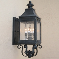 Lighting Innovations BPS1114 Exterior 10 Wide x 31 Tall Lighting Wall Sconce