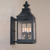 Lighting Innovations BPS1117 Outdoor 7.9 Wide x 18.6 Tall Wall Mounted Lamp