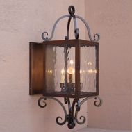 Lighting Innovations BPS1334 Outdoor 14.3  Wide x 32.6  Tall Wall Sconce Light