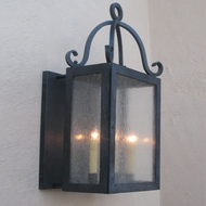 Lighting Innovations BPS1391 Exterior 7.3  Wide x 14.8  Tall Wall Light Fixture