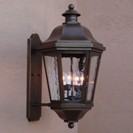 Lighting Innovations BPS1474 Traditional Outdoor 16 Wide x 29.3 Tall Wall Light Fixture