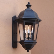 Lighting Innovations BPS1735 Exterior 17  Wide x 31.5  Tall Lamp Sconce