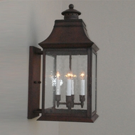 Lighting Innovations BPS2454 Outdoor 10  Wide x 21.8  Tall Lighting Wall Sconce
